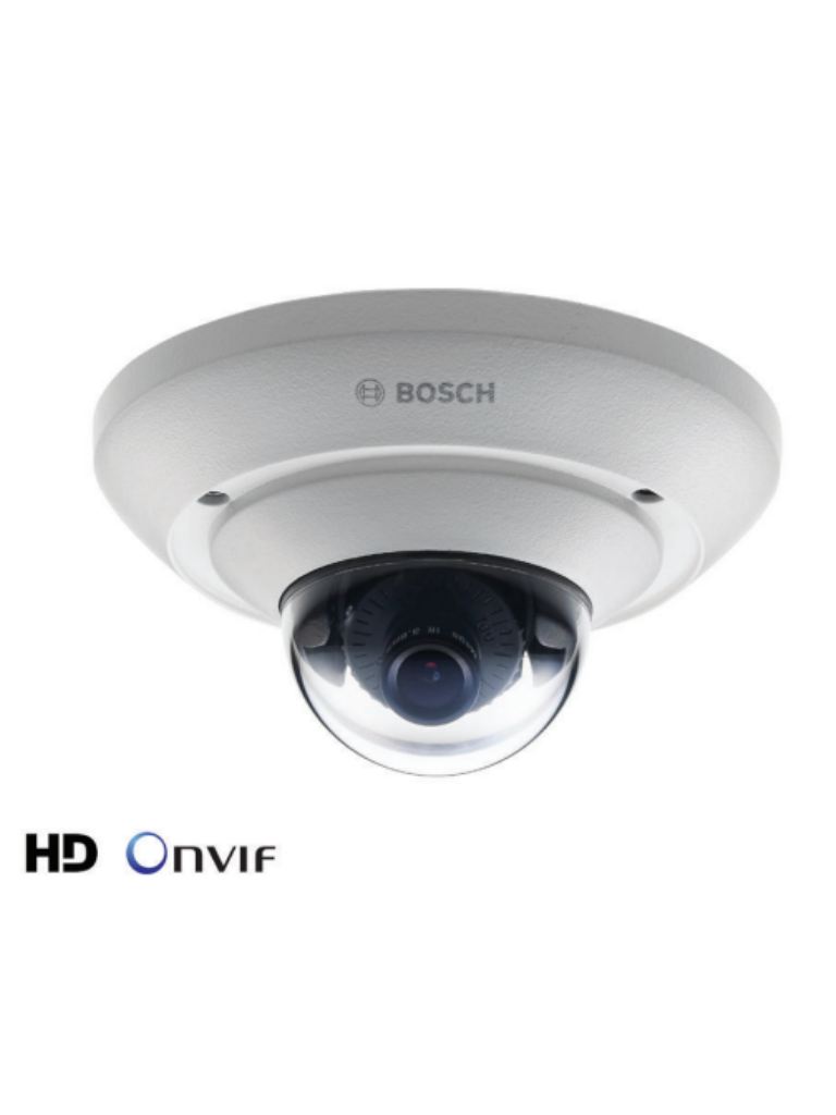BOSCH V_NUC51022F2 - FLEX IDOME IP MICRO 5000 HD / Exterior / Resolucion  1080p / Lente 2.5  mm