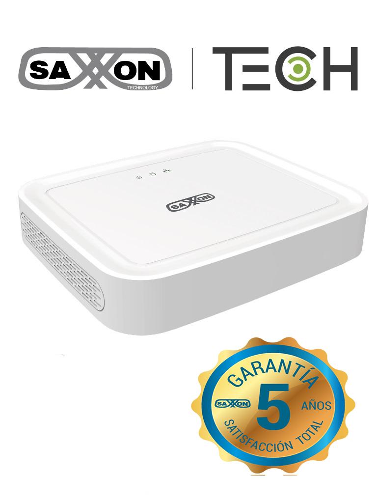 SAXXON TECH Z8308XECSL- DVR 8 CANALES HDCVI PENTAHIBRIDO 1080P LITE/ H264/ HDMI/ VGA/ 1 PUERTO SATA DE HASTA 8TB/ P2P