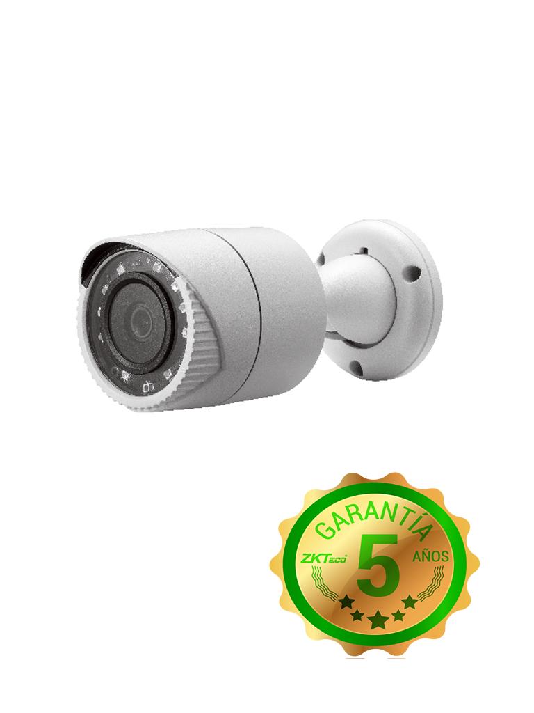 ZK BS32B11B - Camara bullet  HDCVI  1080p / A HD / TVI / CVBS / Lente 2.8 mm / Angulo vision 92 grados / Luz ir 20M / DWDR / Exterior IP67 / Metalica