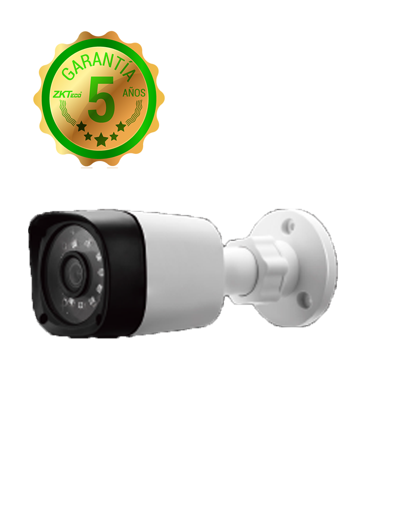 ZK BS31A11A - Camara bullet  HDCVI  720p / A HD / TVI / Lente 2.8 mm / Luz ir 20M / DWDR / Exterior IP66 / Policarbonato