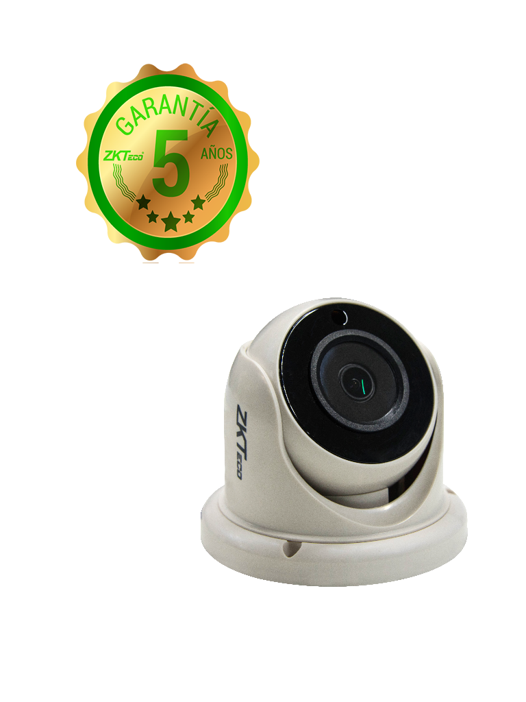 ZK ES31A11J- CAMARA DOMO HDCVI 720P/ AHD/ TVI/ LENTE 2.8MM/ LUZ IR 20M/ DWDR/ INTERIOR/ POLICARBONATO