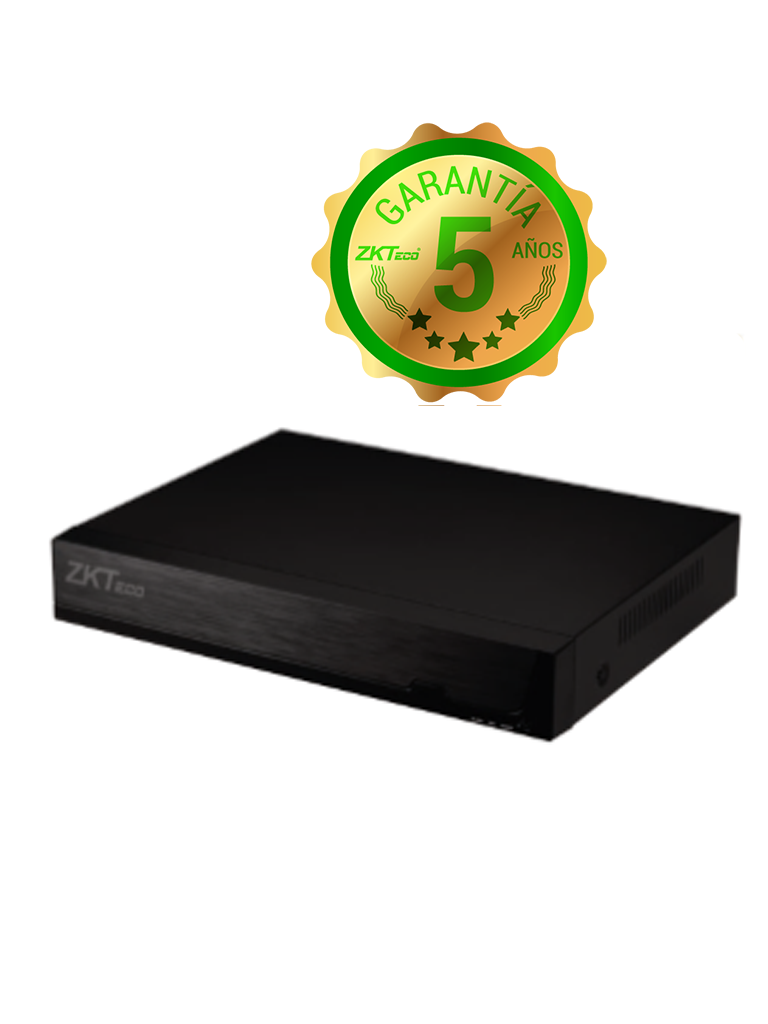 ZKTECO Z8308XECL- DVR 8 CANALES HDCVI PENTAHIBRIDO 1080P/ 4MP LITE/ 5MP LITE/ H264/ HDMI/ VGA/ 1 PUERTO SATA/ P2P