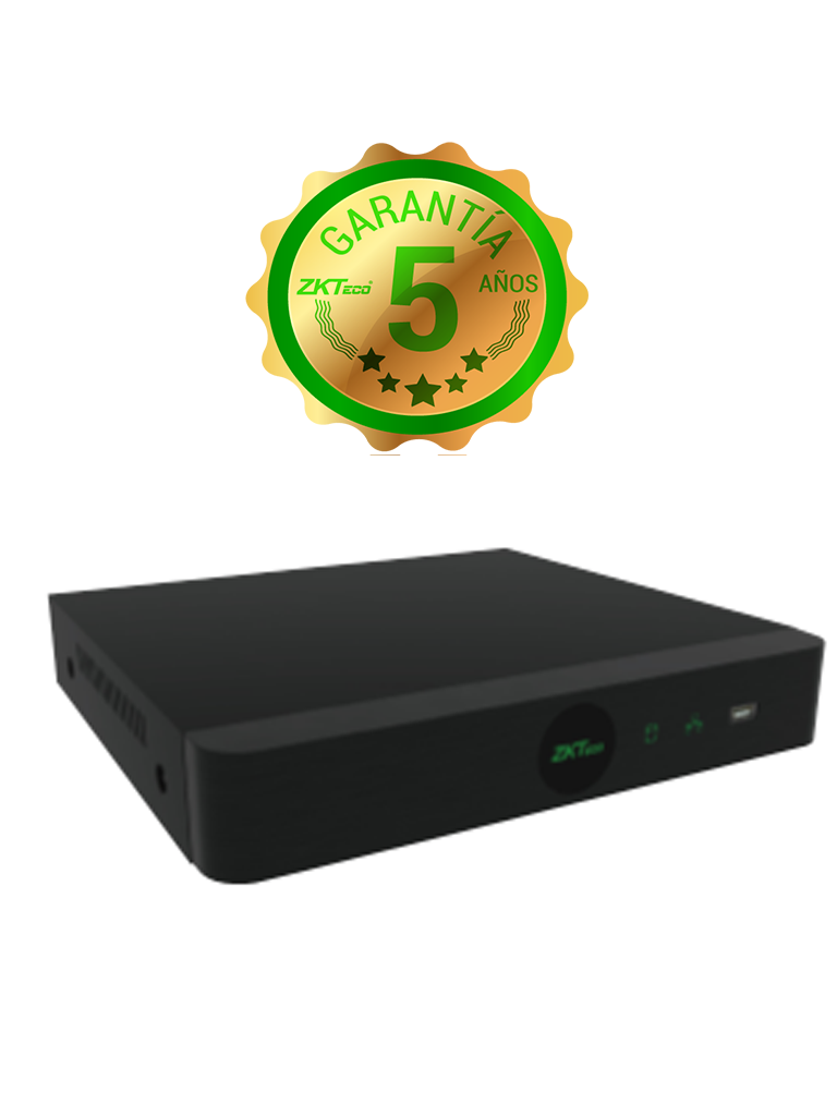 ZKTECO Z8304XES - DVR 4 Canales  HDCVI Pentahíbrido  1080p  Lite/ H264/ HDMI/ VGA/ 1 Puerto SATA/ P2P
