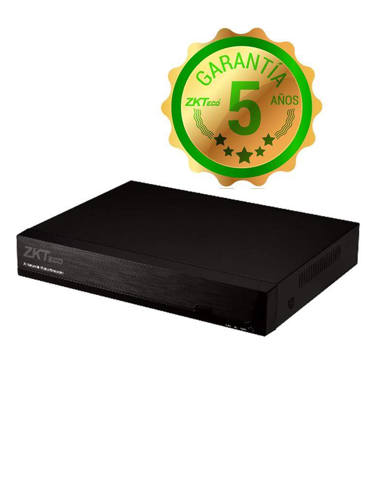 ZKTECO Z8304XECL - DVR 4 Canales  HDCVI Pentahíbrido  1080p / 4 MP  Lite / 5 MP  Lite / H264 /  HDMI / VGA / 1 Puerto SATA / P2P