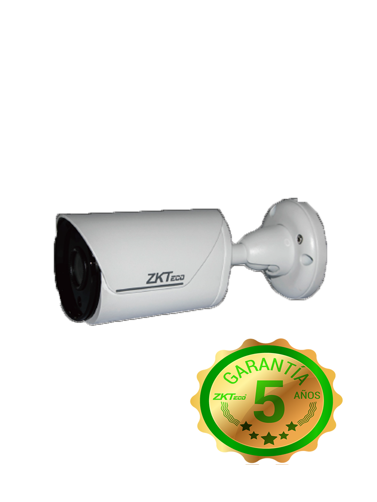 ZK BS855L12K- CAMARA IP BULLET 5MP/ H265/ LENTE 3.6MM/ VIDEO ANALISIS INTELIGENTE/ IR INTELIGENTE 20M/ EXTERIOR IP67/ POE/ P2P A TRAVES DE APP/ ONVIF