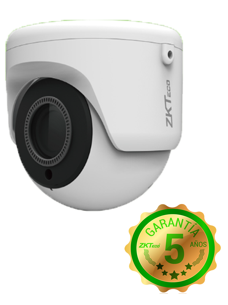 ZK EL854N28I- CAMARA IP DOMO 4MP/ H265+/ LENTE MOTORIZADO 2.8 A 12MM/ WDR REAL 120DB/ IR INTELIGENTE 30M/ EXTERIOR IP67/ POE/ P2P A TRAVES DE APP/ ONVIF
