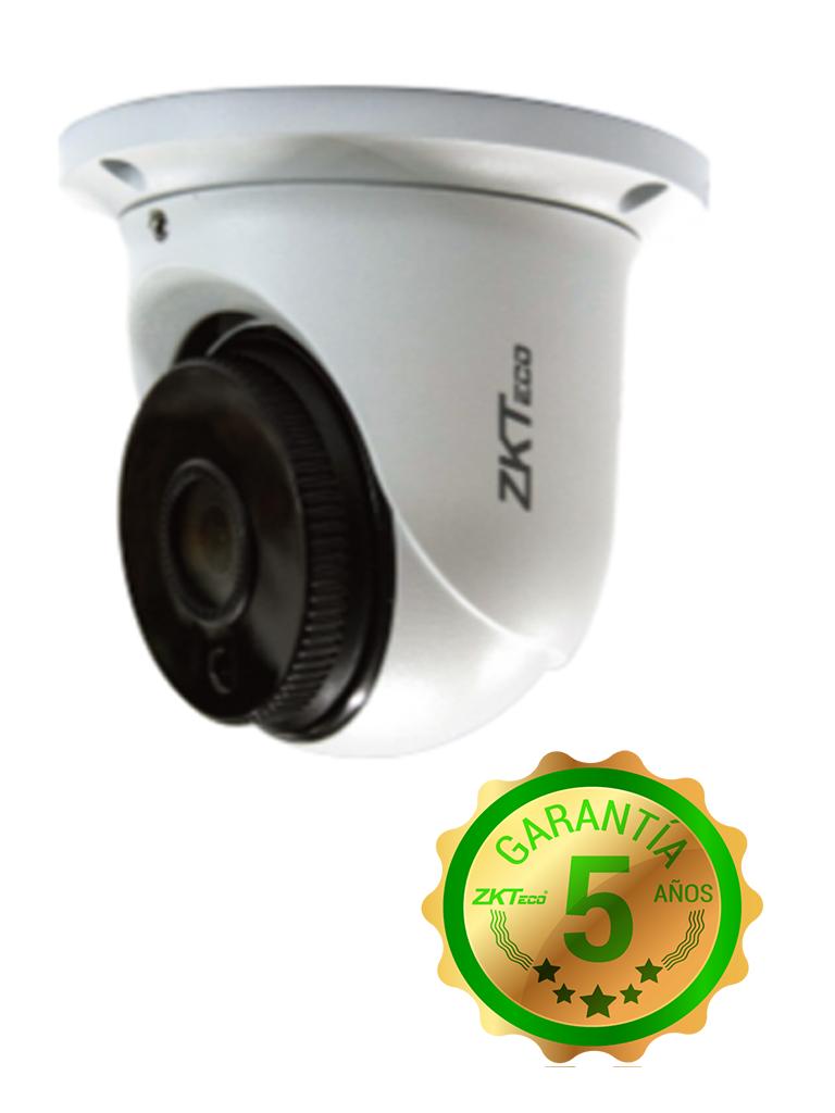 ZK ES32D11H- CAMARA DOMO HDCVI 1080P/ AHD/ TVI/ CBVS/ LENTE 2.8MM/ ANGULO DE VISION 114 GRADOS/ LUZ IR 20M/ DWDR/ IP67/ METALICA