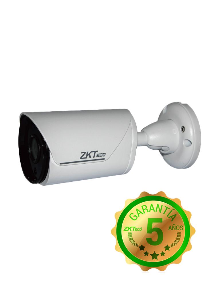 ZK BS35J12K- CAMARA BULLET HDCVI 5MP/ AHD/ TVI/ CBVS/ WDR REAL 120DB/ LENTE 3.6/ ANGULO DE VISION 85 GRADOS/ LUZ IR 20M/ IP67/ METALICA/