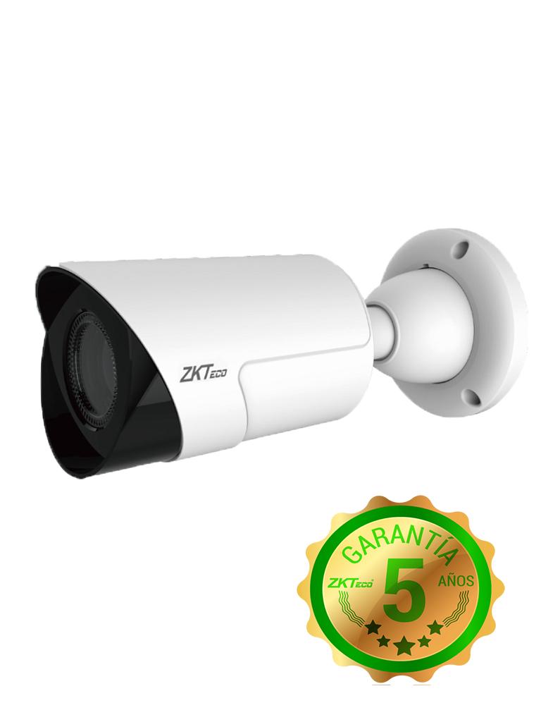 ZK BL35J28L- CAMARA BULLET HDCVI 5MP/ AHD/ TVI/ CVBS/ LENTE MOTORIZADO 2.8 A 12MM/ WDR REAL 120DB/ IR 30M/ IP67/ 3DNR