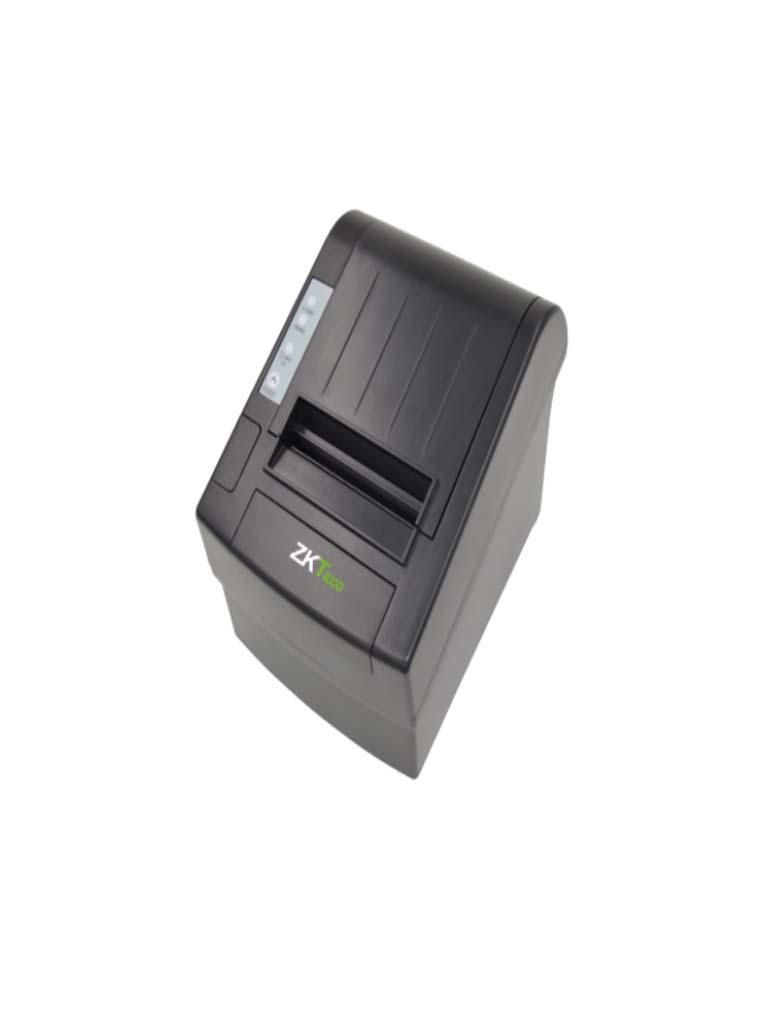 ZKTECO ZKP8002 - Impresora Térmica de Tickets de 80 mm / Alta Velocidad / Comunicación con Cajón de Dinero / Ideal para Puntos de Venta