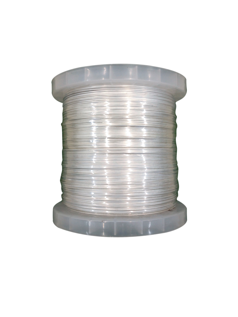 YONUSA BAAL500 - Bobina de alambre de aluminio de 500  Mts para cercos electricos YONUSA / Calibre 16 / Resistente a la corrosion