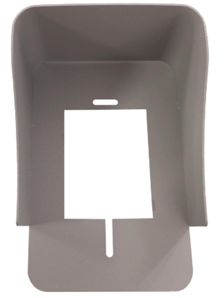 COMMAX RSDRC41CS - Cubierta metálica de protección contra el sol y lluvia, compatible con frentes de calle DRC4Y y DRC40K y paquete cmx2390001