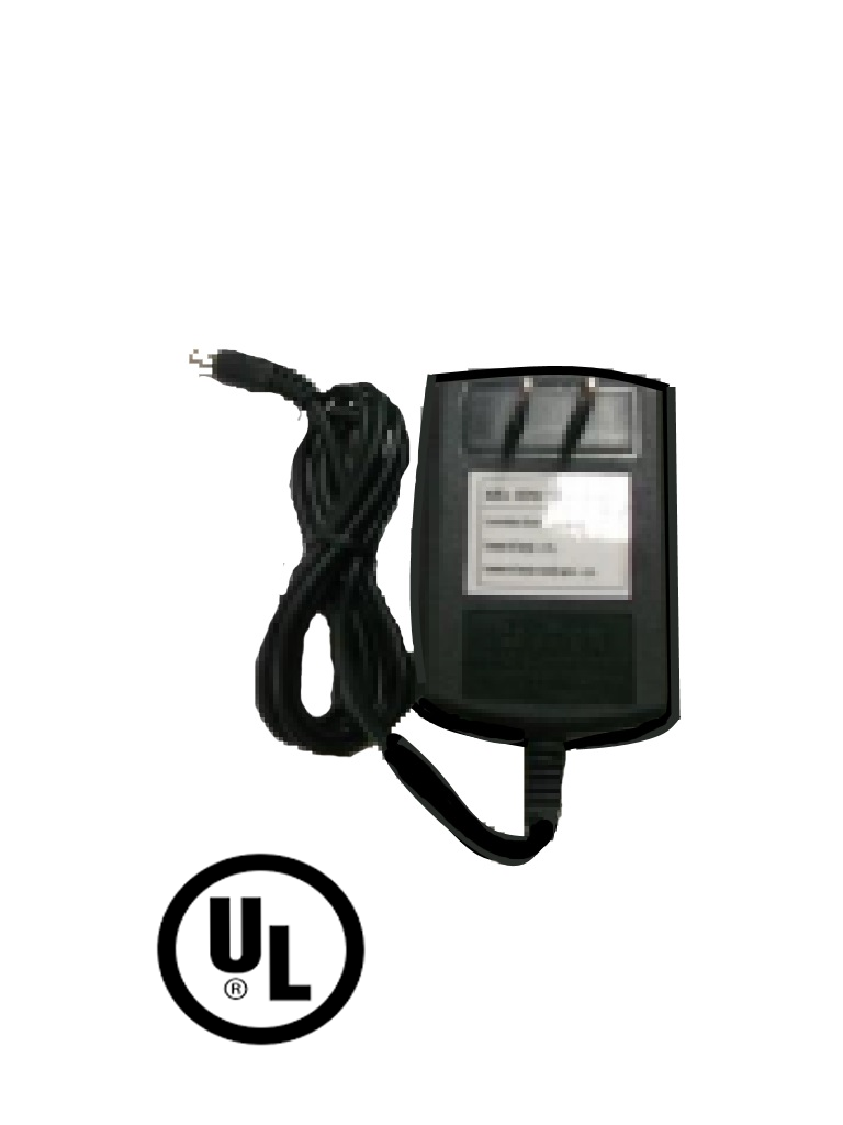 SAXXON PSU1203E - Fuente de poder regulada 12V CD / 3 Amperes / Certificacion UL / Ideal para equipos de CCTV / Cable de 1.2  Mts