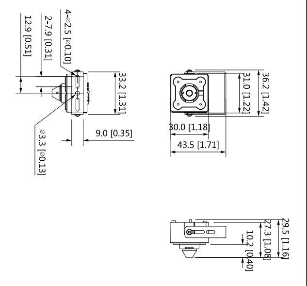 HAC-HUM3201B-P-Dimensiones