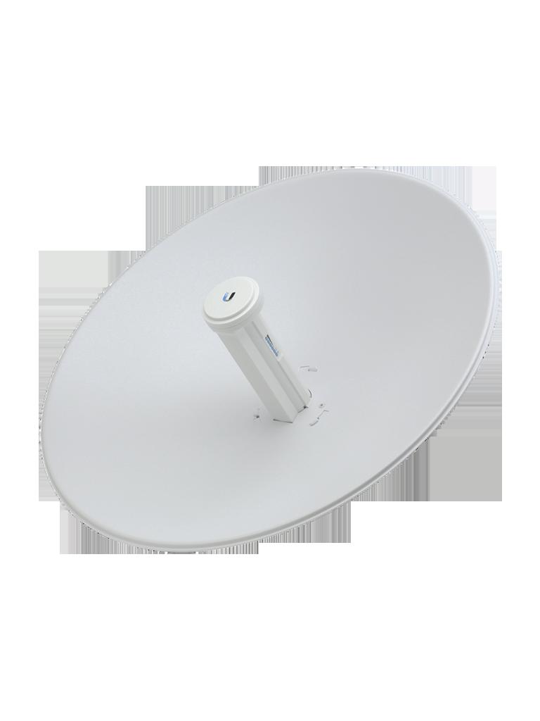 UBIQUITI POWERBEAM AC PBE5AC500 - Radio con antena integrada Airmax AC 5.8GHz / Exterior / MIMO / Antena 27 dBi con Radomo / Rendimiento hasta 450 Mbps