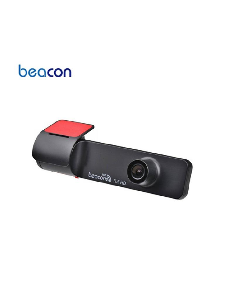 BEACON K1 - CAMARA PARA VEHICULOS/ 1080 FULL HD/ WIFI/ MICROFONO/ BOCINA/ GPS/ RANURA MICRO SD