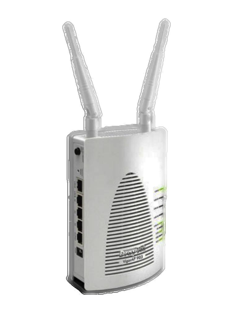 DRAYTEK VIGORAP903- Punto de Acceso Inalambrico de Doble Banda/ PoE/ 5 Puertos Gigabit LAN/ MESH