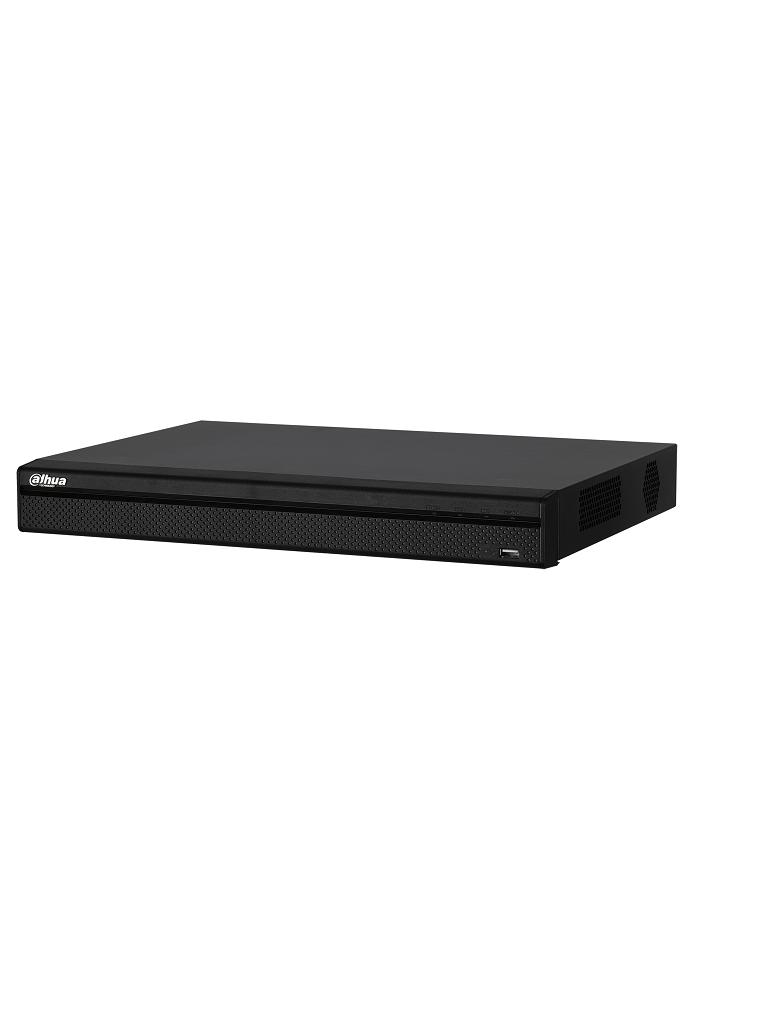 DAHUA HCVR7208AN4K - DVR 8 Canales  HDCV trihibrido 4K / 8  MP /  HDMI 4K / 4 Ch IP 8+4 / 1CH IVS / 1CH Face detection / 2 SATA