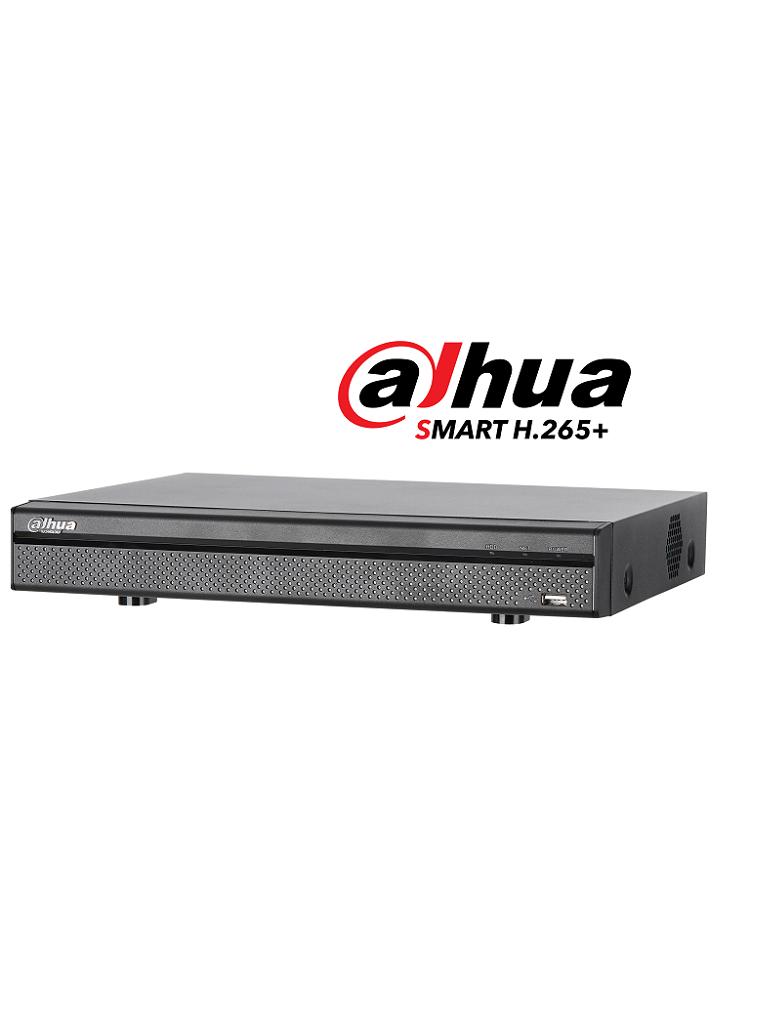 DAHUA XVR5108H4KLX- DVR 8 CANALES HDCVI PENTAHIBRIDO 4MP/ 4K/ 6MP/ 1080P/ H265+/ 4 CH IP ADICIONAL 8+4/ 1 SATA HASTA 10TB/ SMART AUDIO HDCVI/ P2P