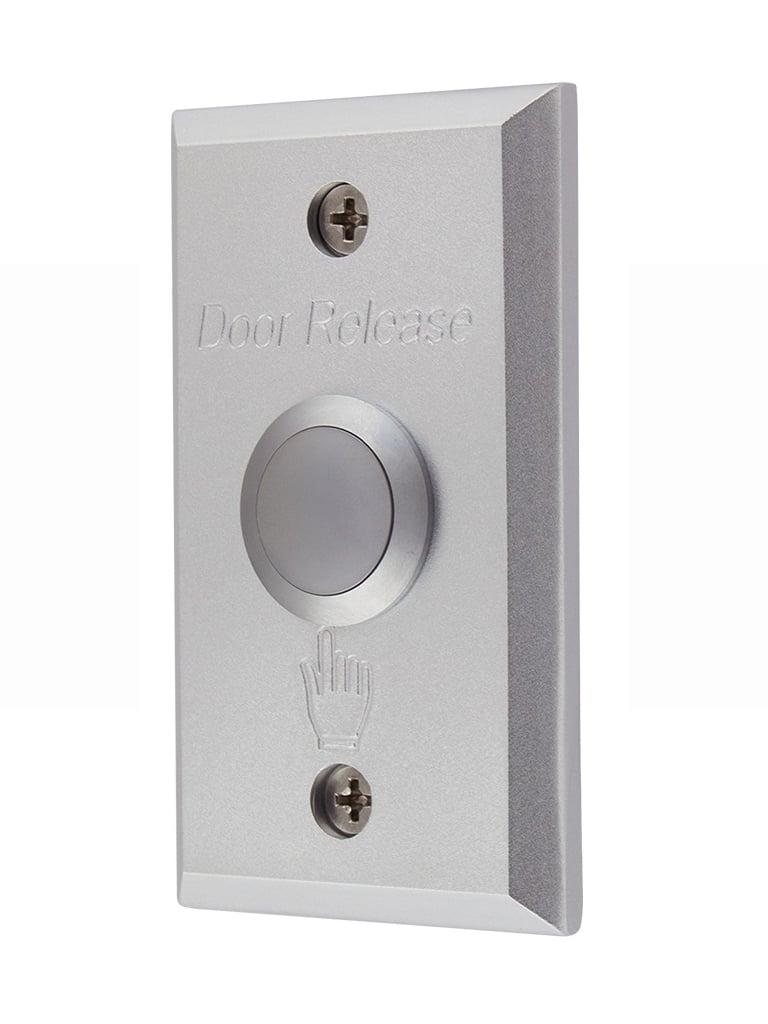 YLI ABK800A - Boton liberador de puerta tipo americano con estructura de aluminio funcion normalmente abierto y cerrado/ caja de instalacion clave 76017/ #NuevoPrecio