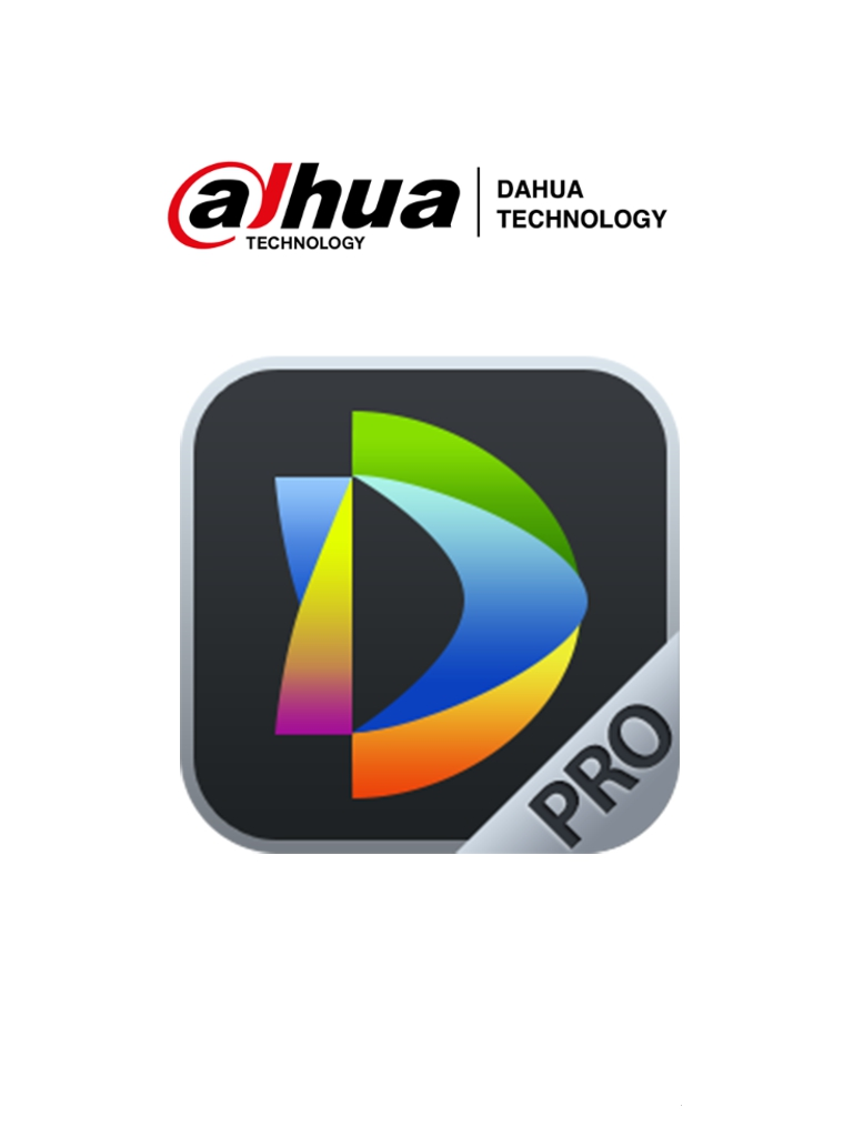 DAHUA DSSPro-Base-License - Licencia Base de DSSPro/ 64 Canales de Video/ 2 Canales LPR/ 2 Canales de Reconocimiento Facial/ 64 Controles de Acceso/ 8 Alarmas/ 128 Videoporteros