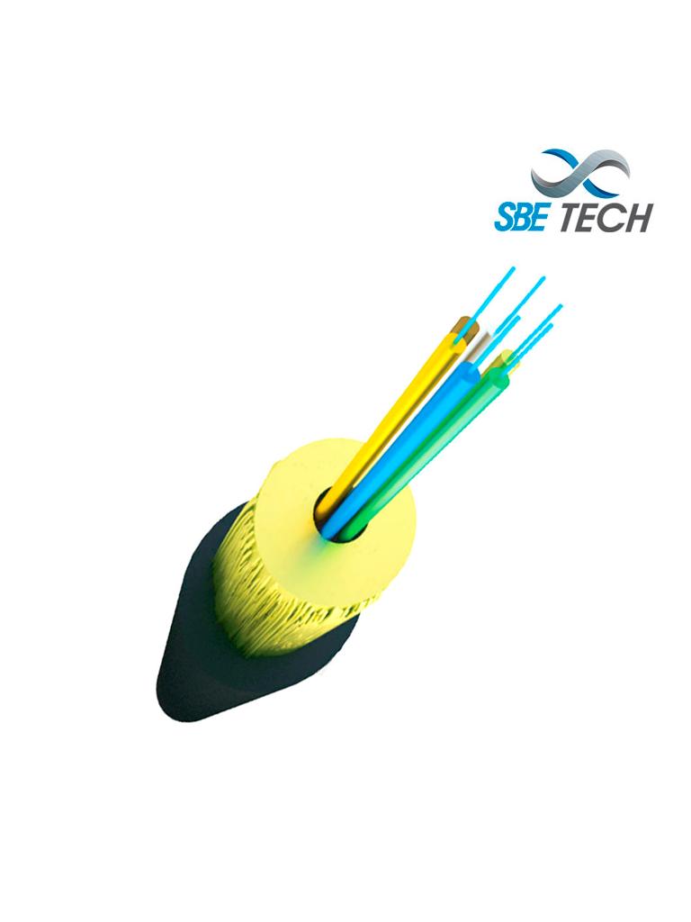 SBETECH SBE-FOINE65010GOM4 - Fibra Optica para uso interior/exterior tubo apretado 50/125, LSZH, 10G, OM4 6 hilos / Metro