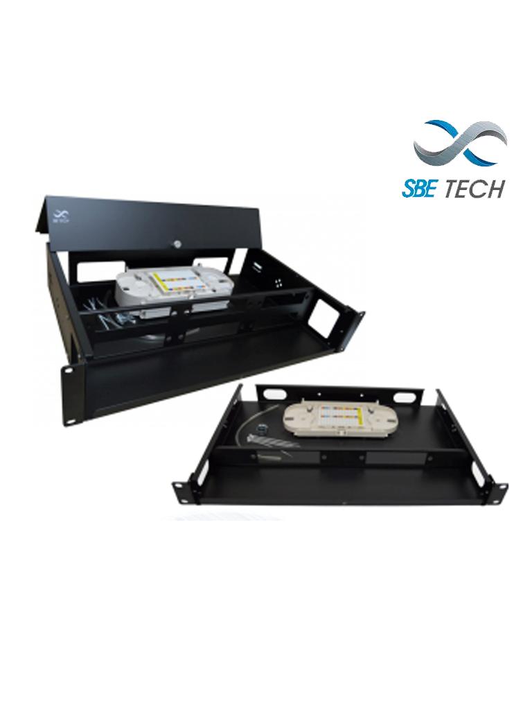 SBETECH SBE-DOF12 - Distribuidor de fibra hasta 12 acopladores 1U