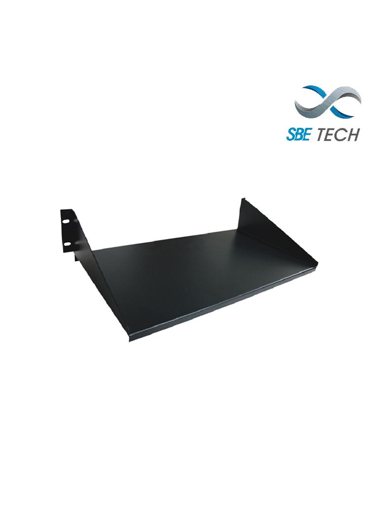 SBETECH SBE-C1914 - Charola para rack fija 14 de profundidad