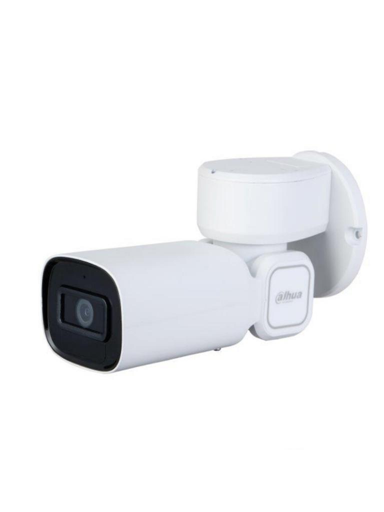 DAHUA PTZ1C203UE - GN - Camara IP bullet PTZ 2 megapixeles / 3X Zoom optico / H.265 / 20 Metros ir / STARLIGHT / IVS / WDR /  PoE
