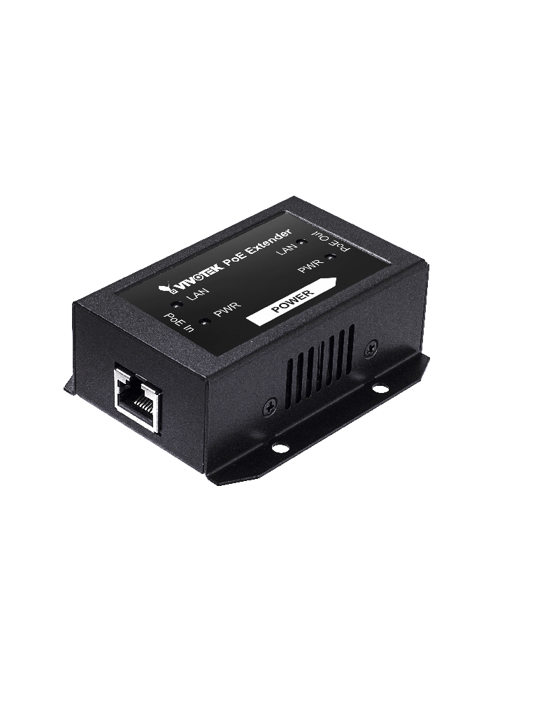 VIVOTEK APFXC0110 - Extensor  PoE 1 puerto fast ethernet / Para interior / 70W / Hasta 200M en cascada