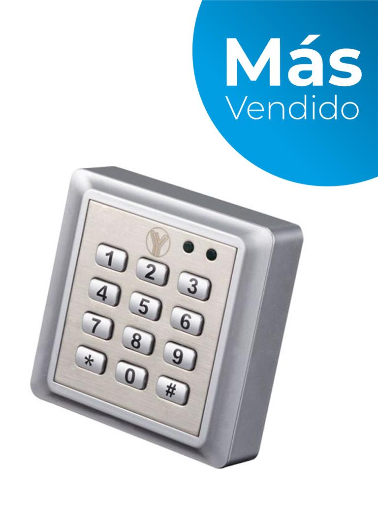 YLI YK668 - Teclado para control de acceso para tarjeta  ID a prueba de agua para 2000 tarjetas ID y 1 password/ #MásVendido