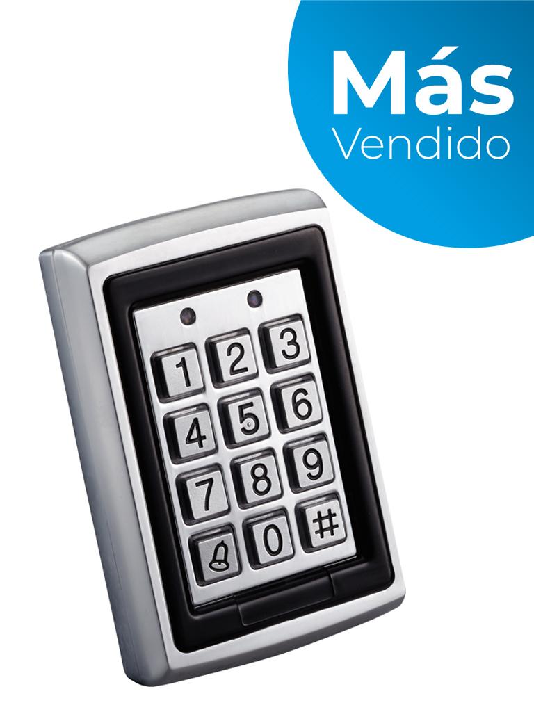 YLI YK568L - Teclado para control de acceso / Salidas  NC y NO / Exterior e interior / 500 Usuarios password o tarjeta  ID/ #MásVendido