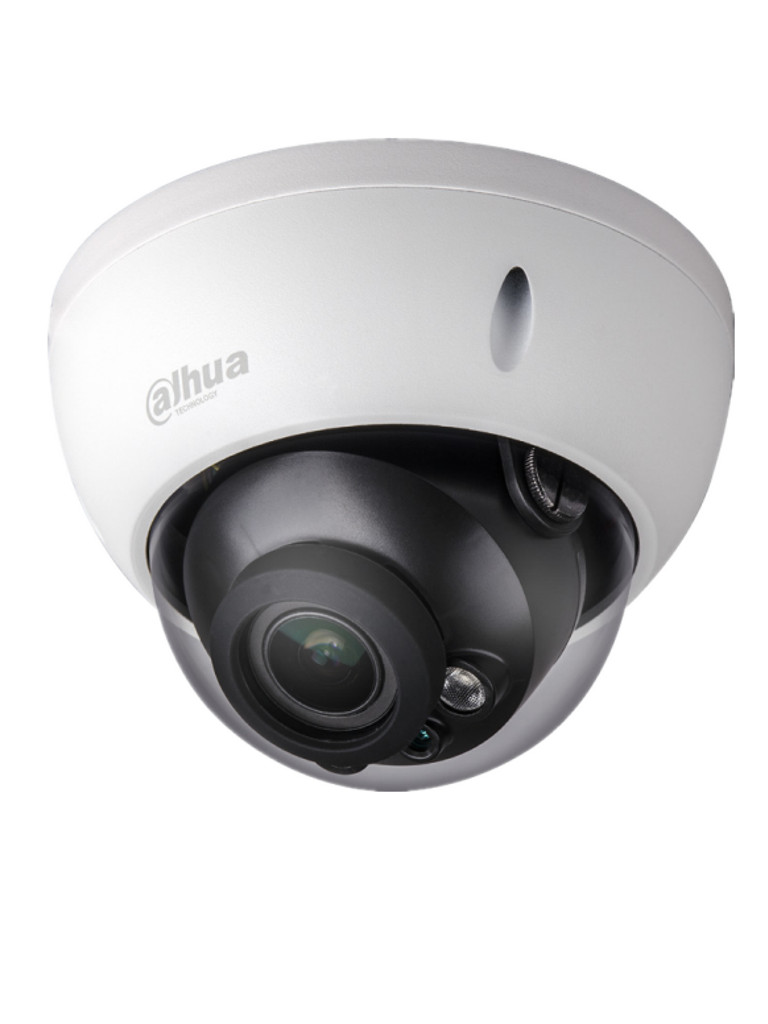 DAHUA HDBW2501RZDP - Camara domo  HDCVI 5 MP / 4 MP / STARLIGHT 0.005 Lux color / WDR Real 120 dB / Lente motorizado 2.7 a 13.5  mm / Ir 30M / IP67 / 12VCD / 24V