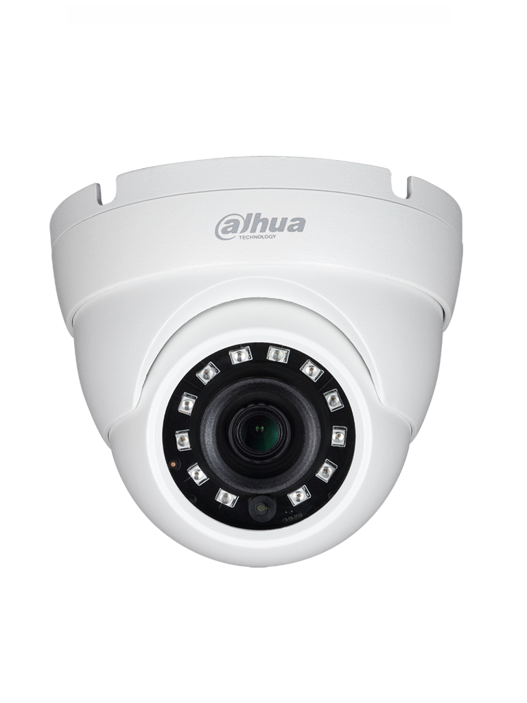 DAHUA HDW1801M - Camara domo 4K EYEBALL / Lente de 2.8 mm / WDR Real / Ir 30  Mts /  HDCVI TVI A HD Y CBVS / IP67