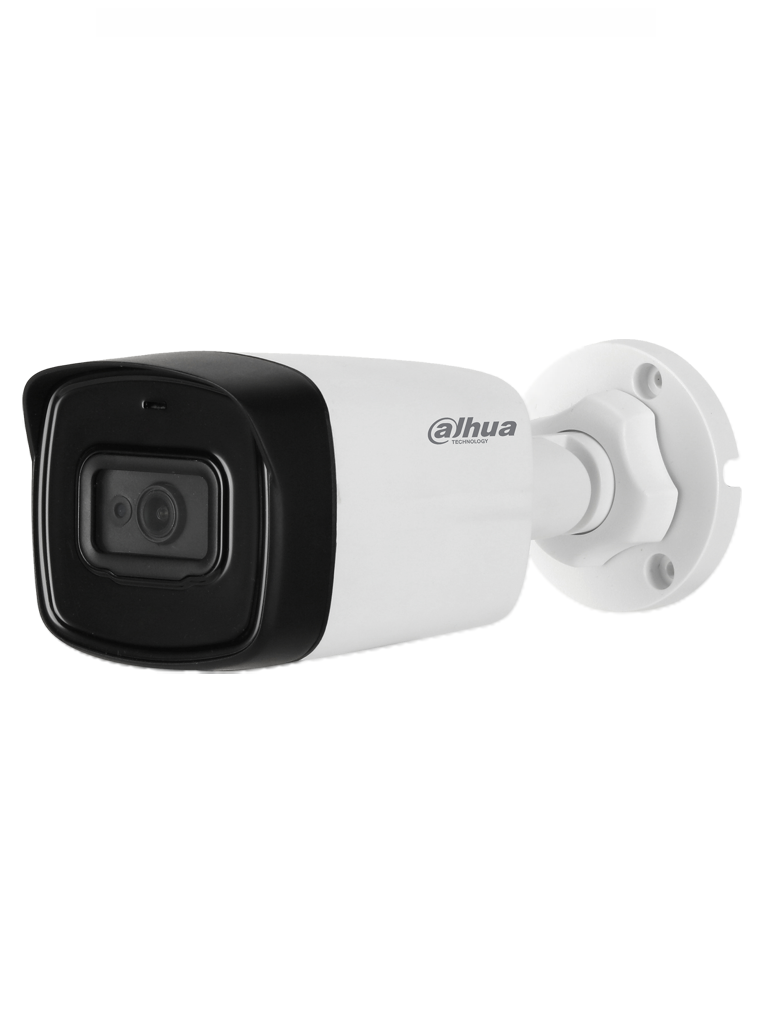 DAHUA HFW1801TL - A - camara bullet 4K con audio integrado / 2.8  mm / 80  Mts Ir / WDR Real / CVI-TVI-A HD-CVBS / IP67