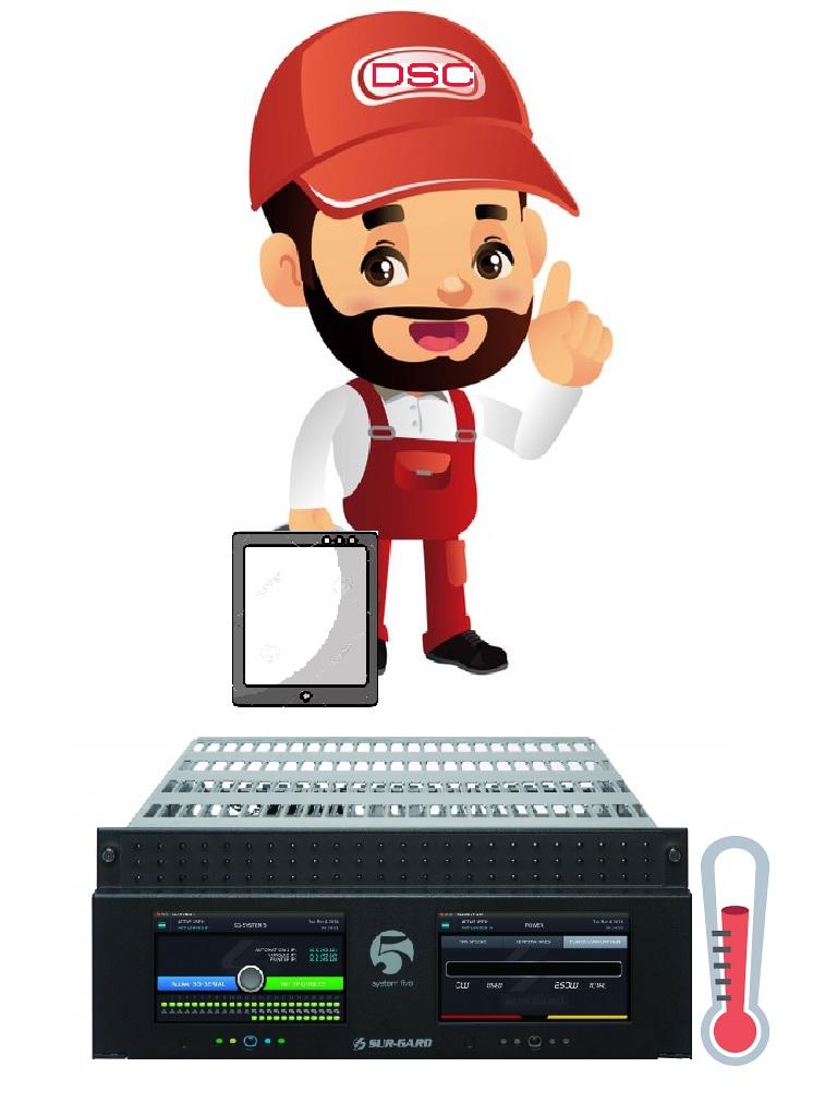 DSC SERV-ESP - Servicio Especializado para Centrales de Monitoreo Costo por Hora