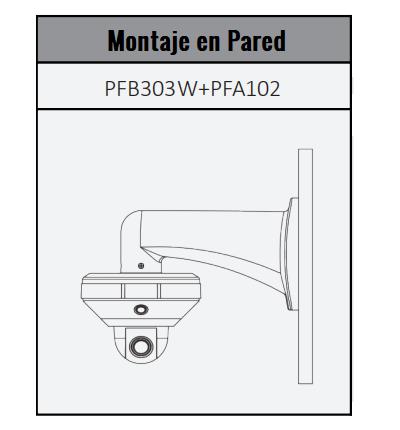 DH-PSDW5631S-B360 montaje pared