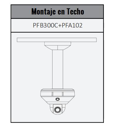DH-PSDW5631S-B360 montaje techo