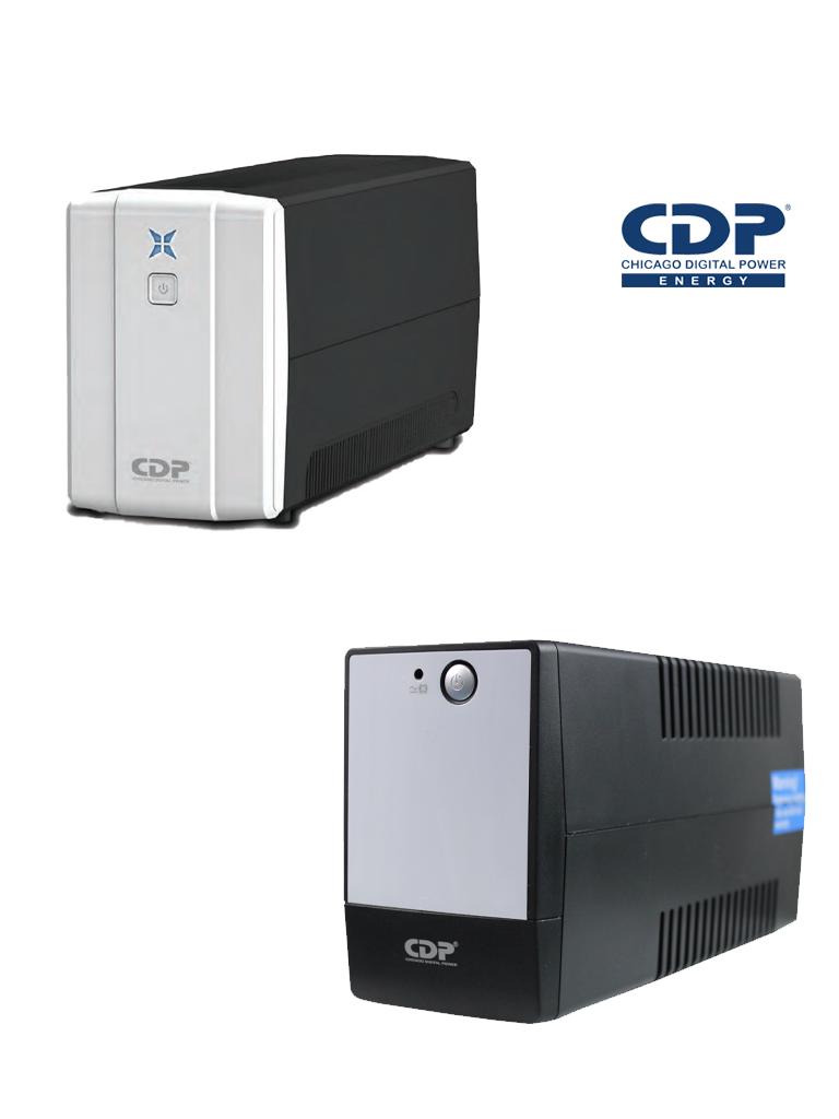 CDP RUPR508 - UPS / 500 Va / 250W / 4 Terminales de salida / 4 Con respaldo / Auto reseteo