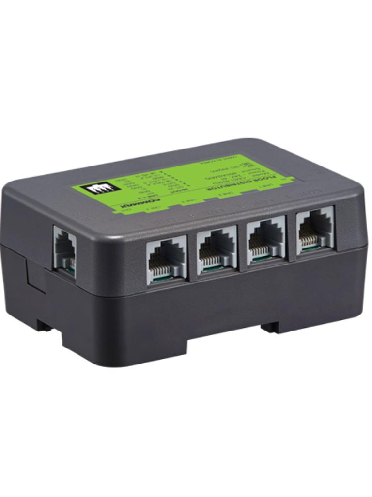COMMAX CMD404FU - Distribuidor de piso para monitores CMV43A y CMV70MX departamental Modum complejo/ Alimentacion con RF2A/ Necesita CMD101BU