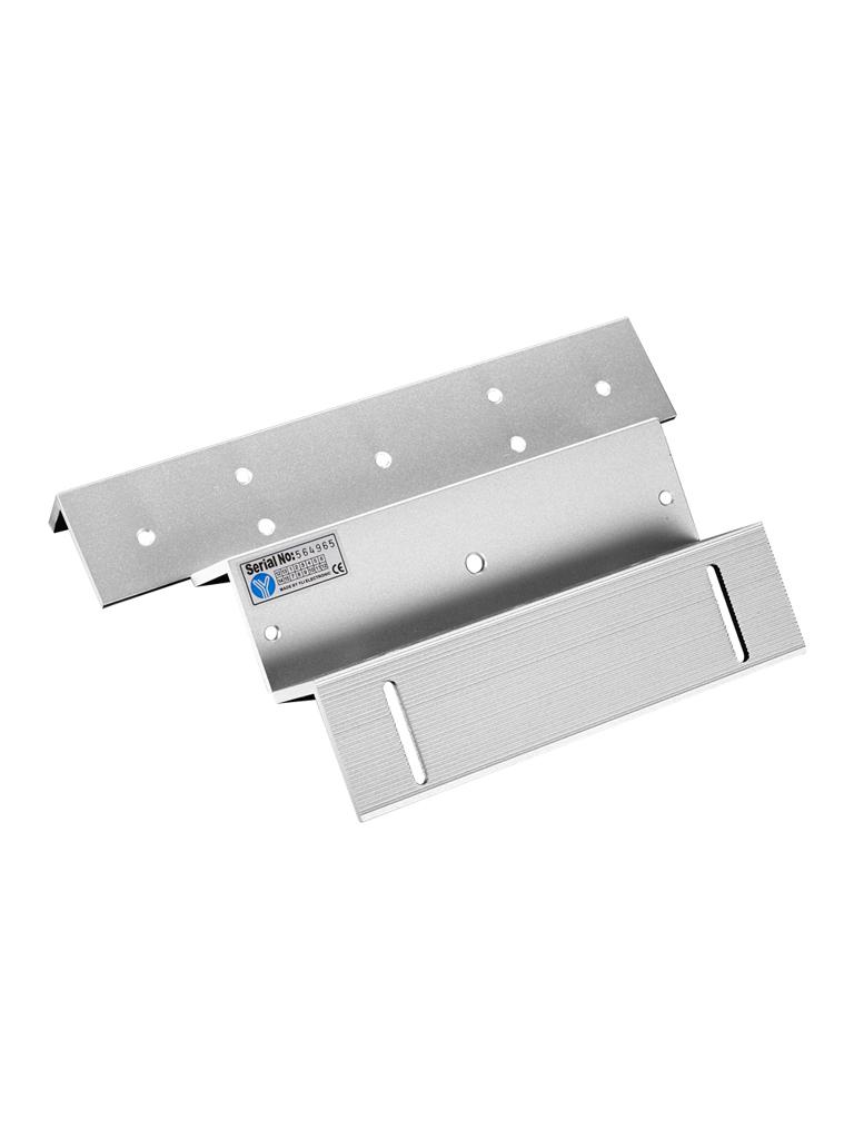 YLI YM500NZL - Soporte de electroiman para puerta con apertura interior / 500  Kg / Tipo z / Compatible con YM500N