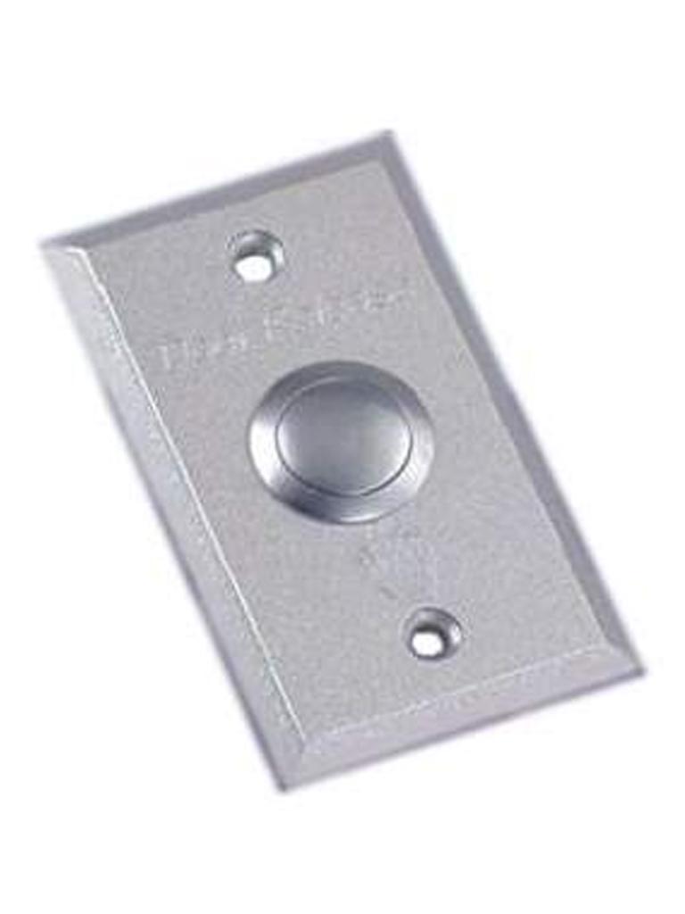 YLI ABK800A - Boton liberador de puerta / Estructura de aluminio / Funcion normalmente abierto y cerrado