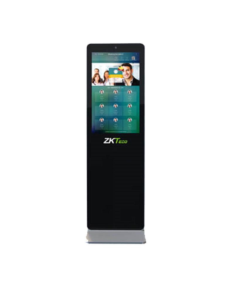 ZK FD1032V- PANTALLA PUBLICITARIA/ LCD DE 32 PULGADAS TOUCH/ VIDEO/ IMAGENES/AUDIO/ TEXTO/ DETECCIÓN FACIAL 5000 USUARIOS / CTRL DE ASISTENCIA/ 4G RAM