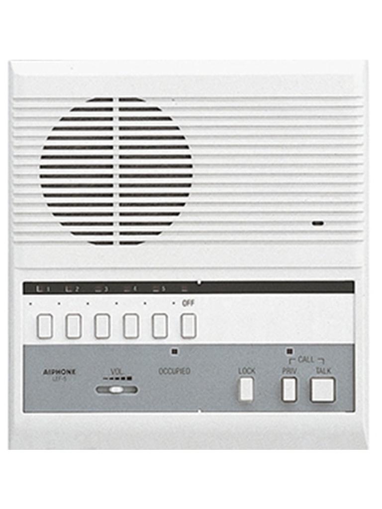 PARKTRON SAX5INT - Intercomunicador estacion maestra / PTT /  LED Indicador / Voz y tono / Compatible con terminales PARKTRON