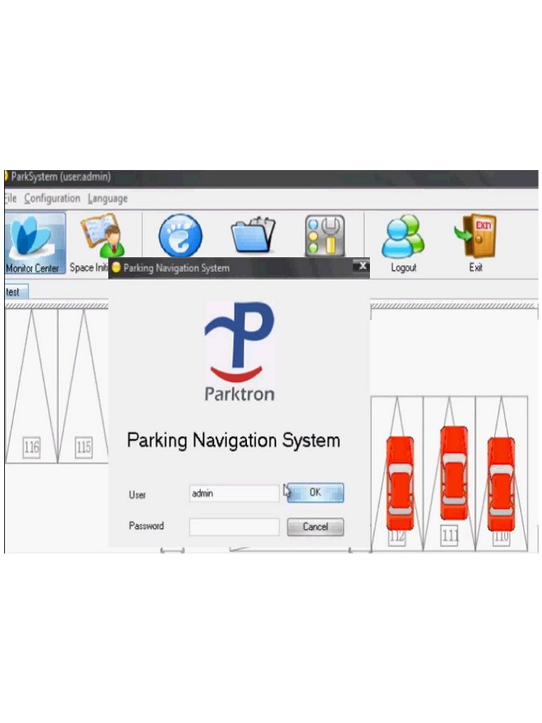 PARKTRON PGSCMS - SOFTWARE DE CONTROL CENTRAL / COMPATIBLE CON C01