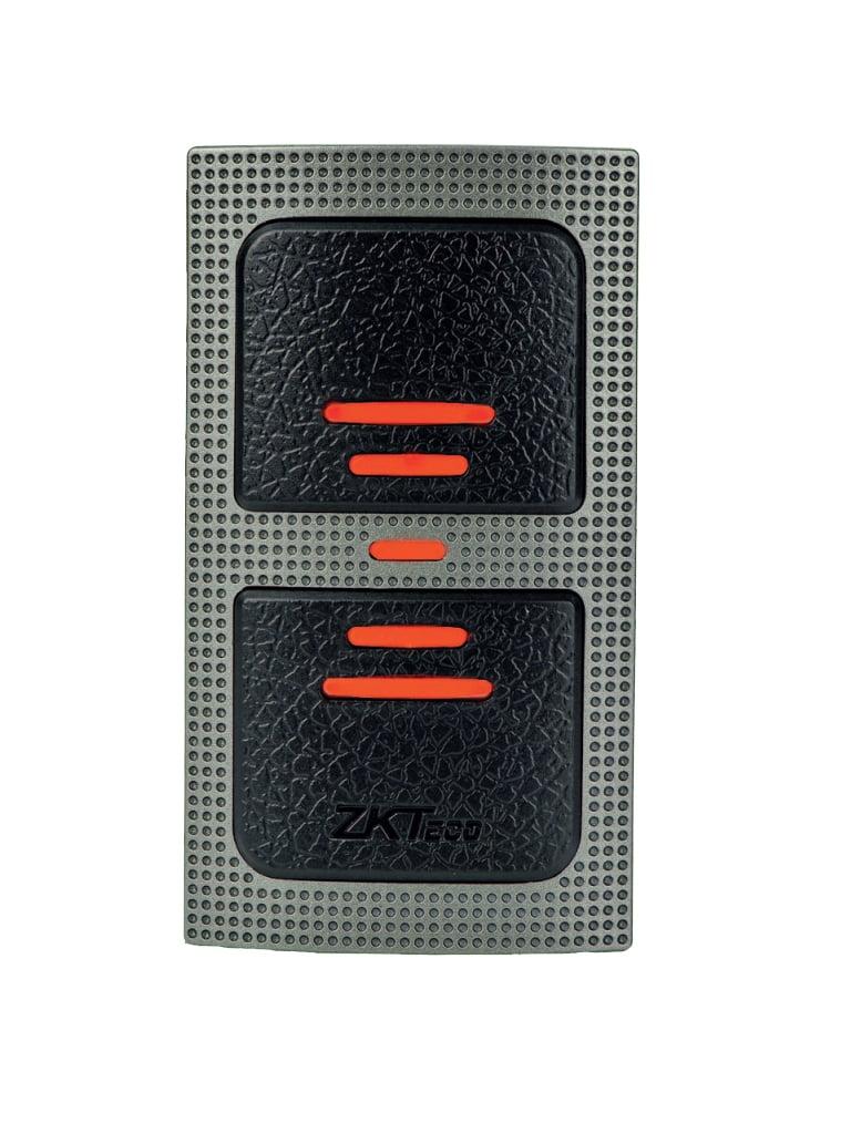ZKTECO KR500 - Lector Esclavo de Tarjetas  ID 125 Khz/  IP65/  Wiegand 26/ LED Indicador de Estado