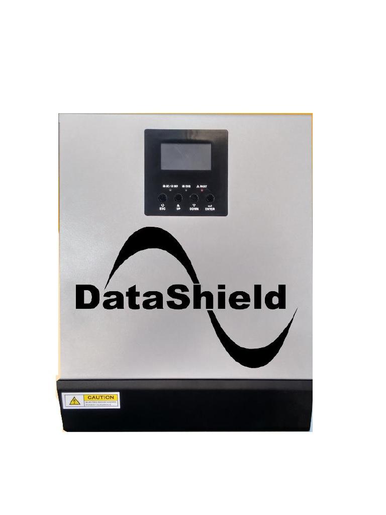 DATASHIELD IS - 1000 -INVERSOR Solar hibrido / Potencia nominal 1000VA / 800W En modo inversor / 110 / 120 VCA / Respaldo de bateria / 500W En modo CARGADOR solar