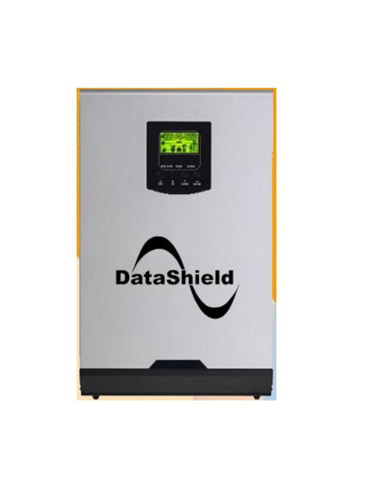 DATASHIELD IS - 3000 -INVERSOR Solar hibrido / Potencia nominal 3000VA / 2400W En modo inversor / 110 / 120 VCA / Respaldo de bateria / 2000W En modo CARGADOR solar
