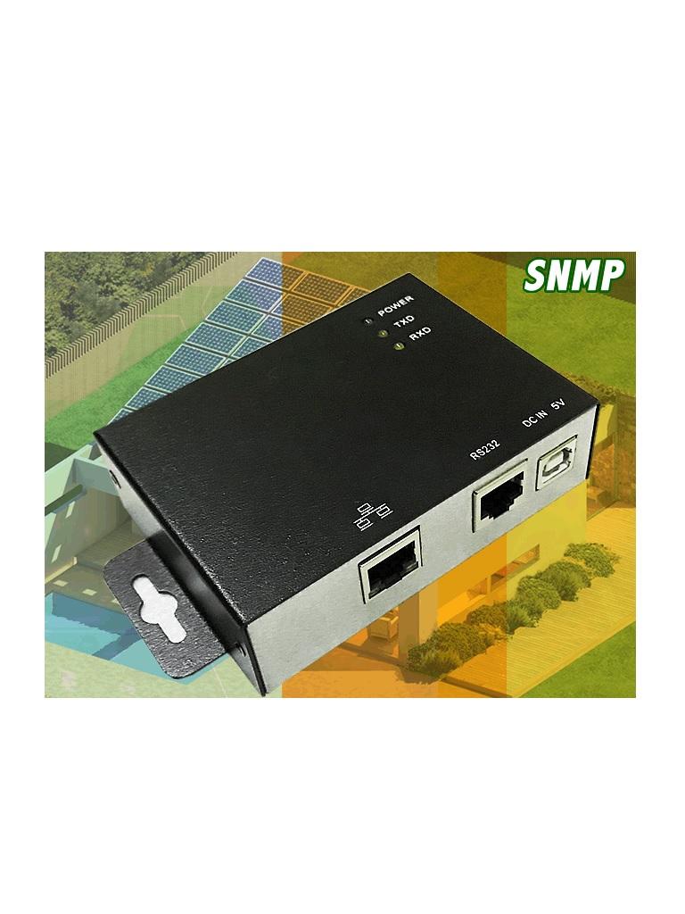 DATASHIELD PC 3705 - La tarjeta SN MP es un dispositivo administrativo que recopila y almacena informacion sobre los INVERSORES, el cual nos permite monitorear los inversores DATASHIEL IS-1000 e IS-3000 y configurar remotamente a los dispositivos