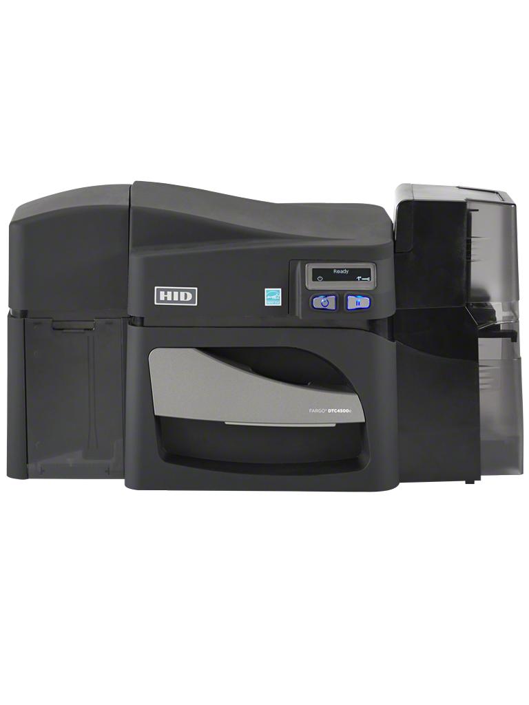 HID DTC4500E - Impresora de impresion directa 300  dpi /  USB / Ethernet / Soporta PROGRAMADORAS y laminado / SS O DS / 225 Tarjetas por hora / SOBREPED IDO
